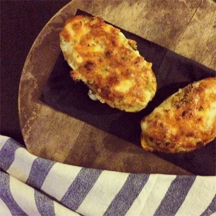patatas rellenas al horno