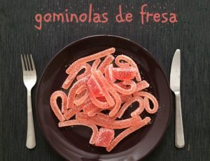 Gominolas caseras de fresa