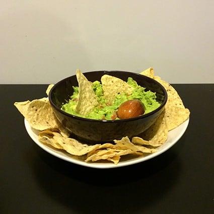 Receta guacamole mexicano