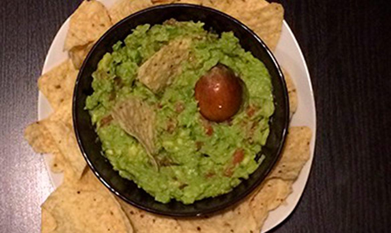 receta guacamole facil