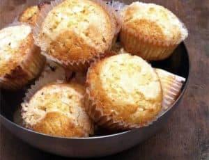 Magdalenas de mantequilla esponjosas