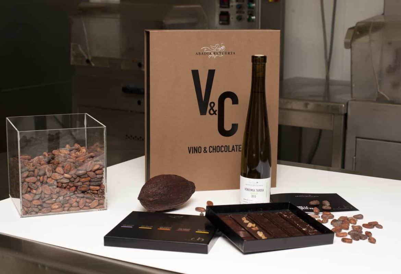 Vinos y chocolate