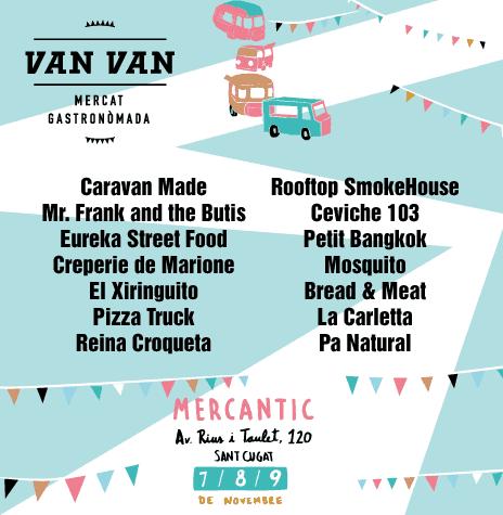 Van Van. Mercado Gastronómada
