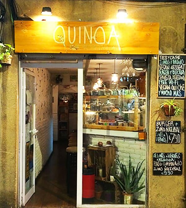 Quinoa Vegetaria Barcelona