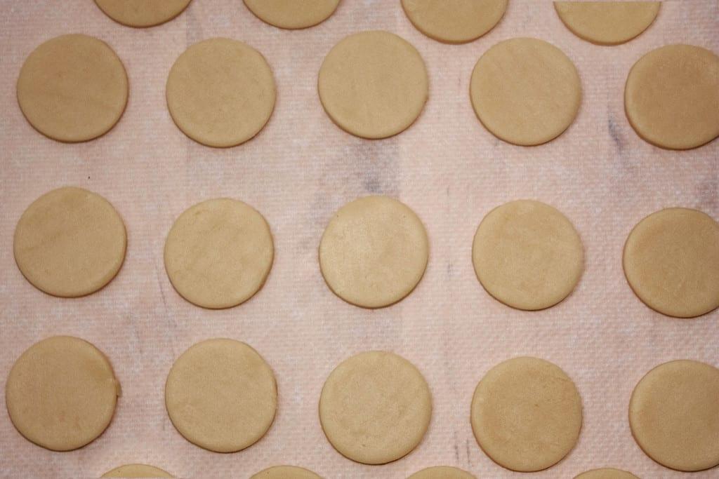 Galletas circulares