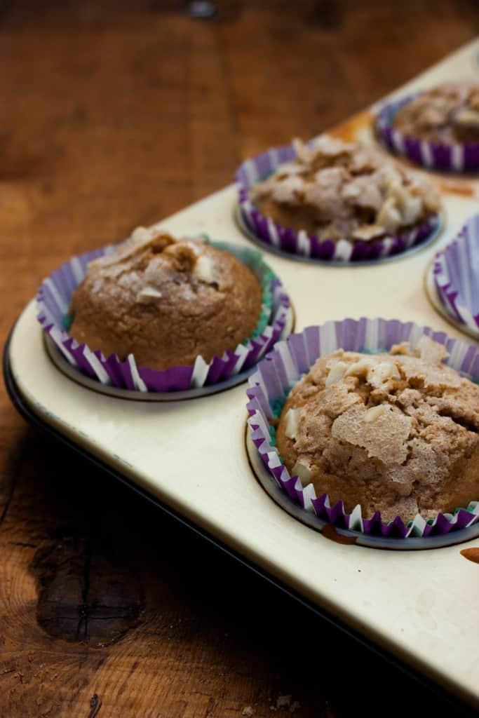 Muffins de praliné