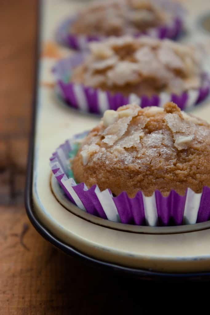 Muffins de almendras y nutella