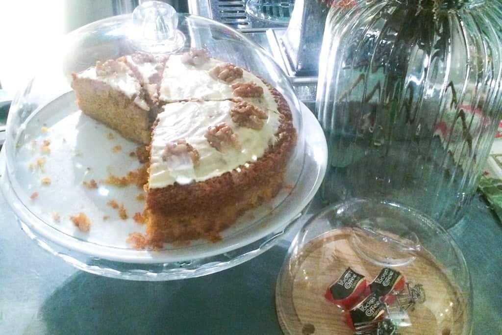 Carrot cake del Bicioci, gracia