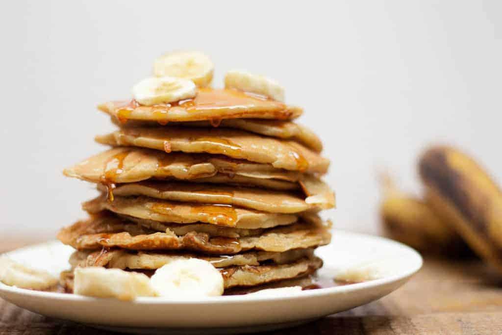 Pancakes de platano