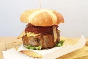 hamburguesa de sobrasada
