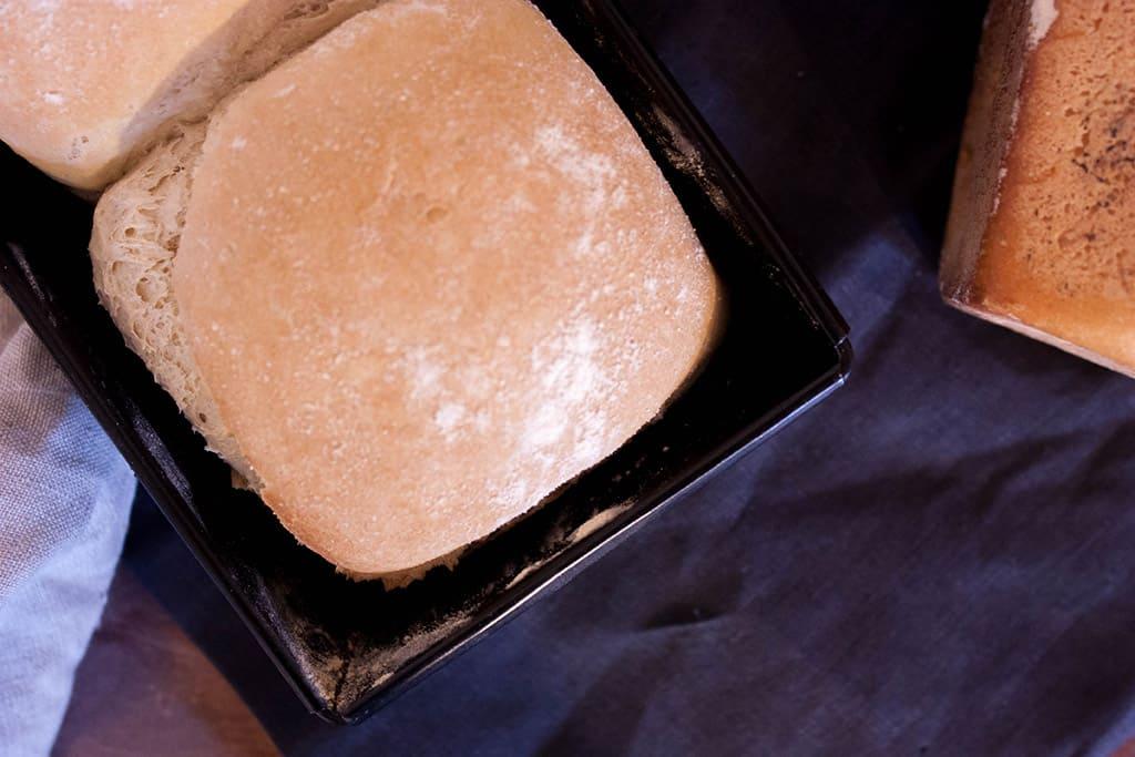Receta iban yarza pan de molde