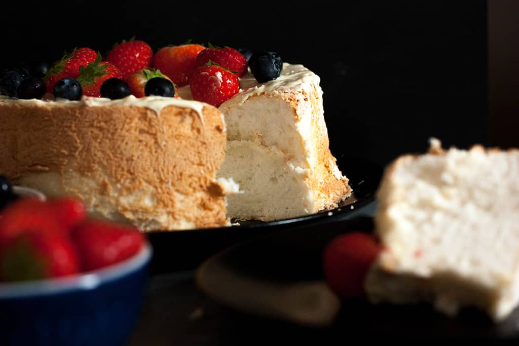Angel food cake Paso a paso