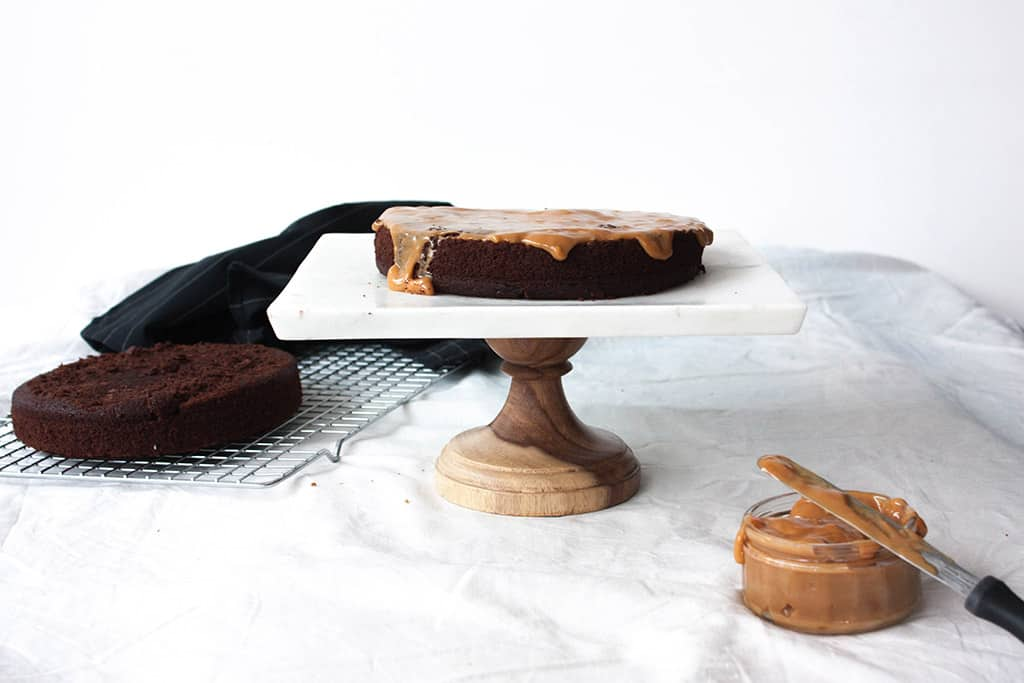 Receta tarta Guinness