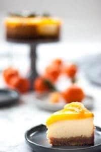cheesecake de mandarina al horno