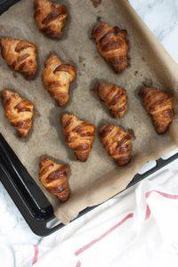 Receta de croissants casero