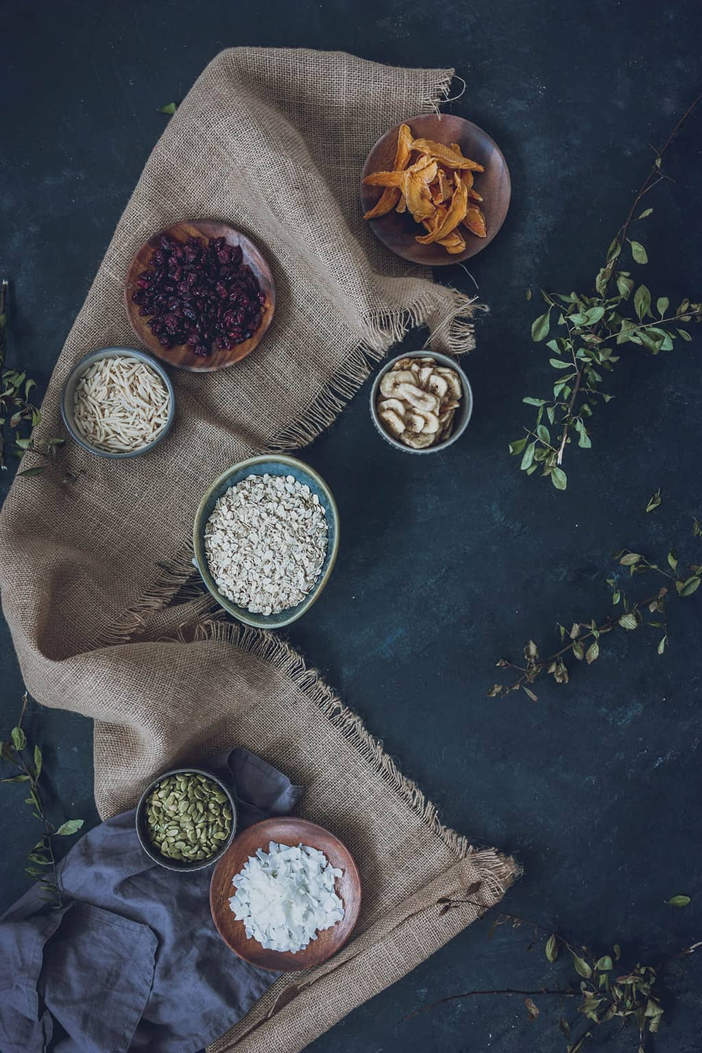 ingredientes granola de avena