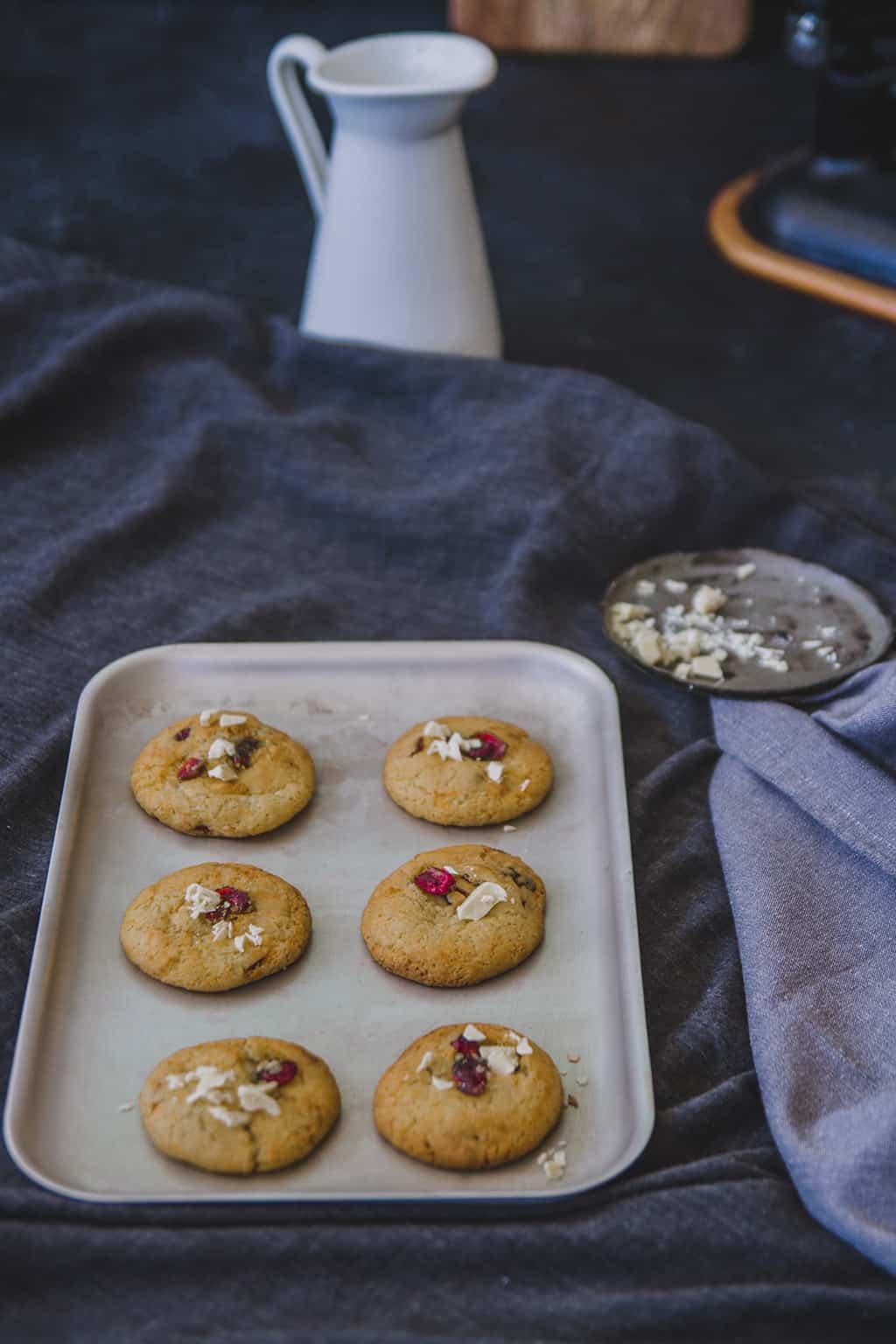Cookies de chocolate blanco