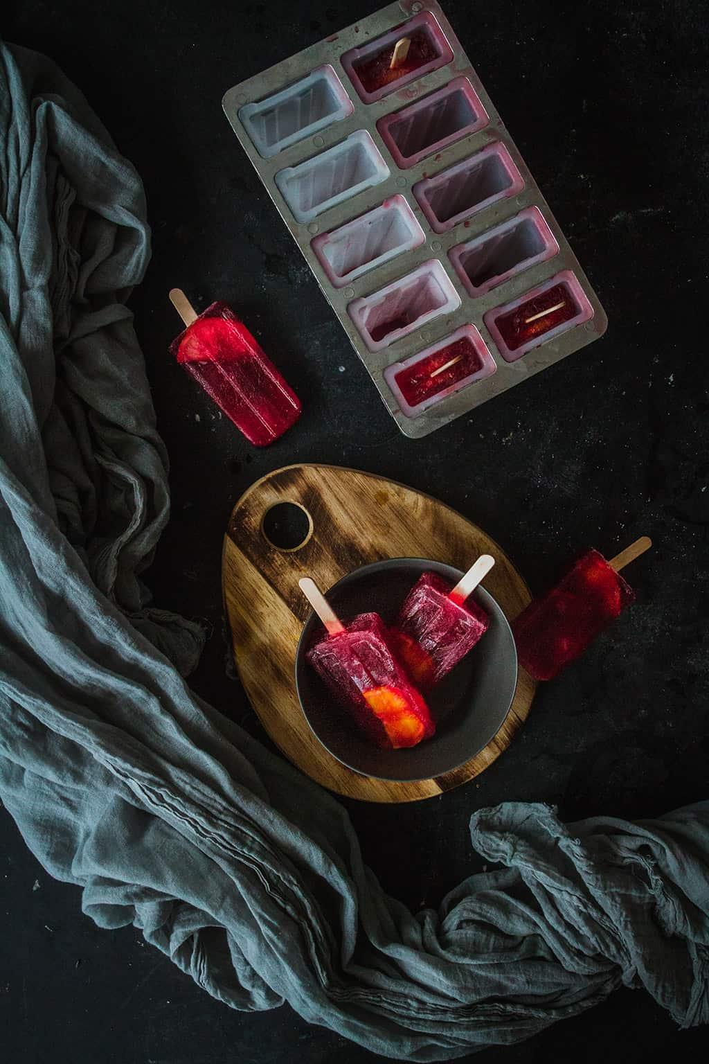como hacer polos sangria