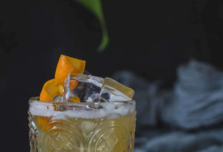como preparar whisky sour