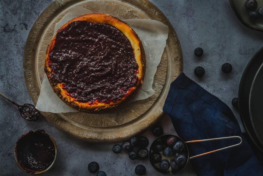 receta cheesecake de arandanos