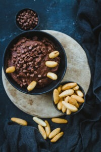 receta de hummus de chocolate