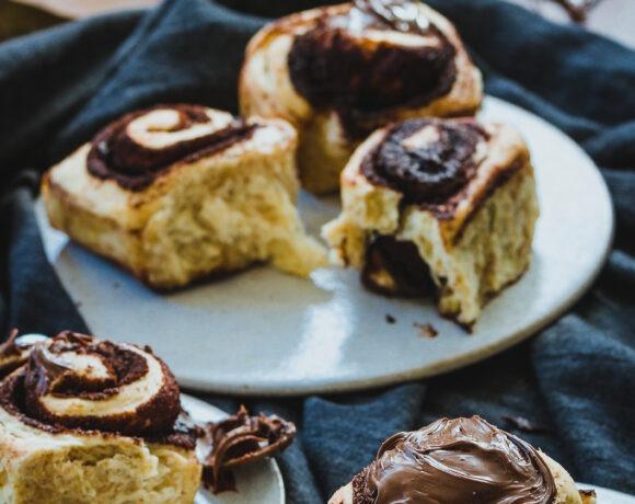 Como hacer rollos de chocolate