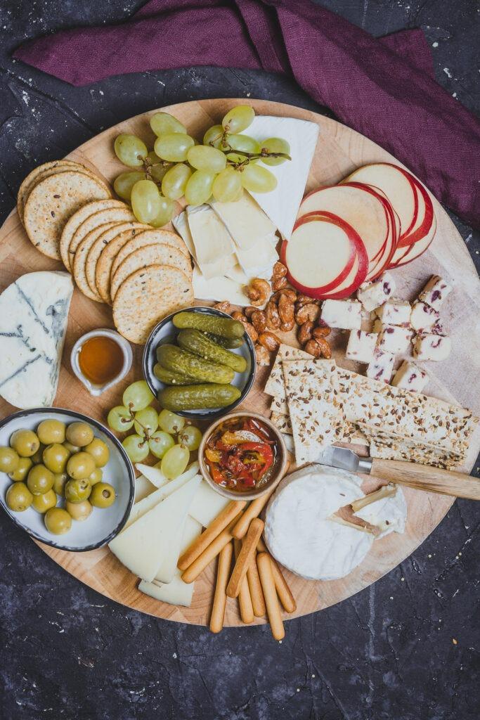 Como organizar tabla de quesos